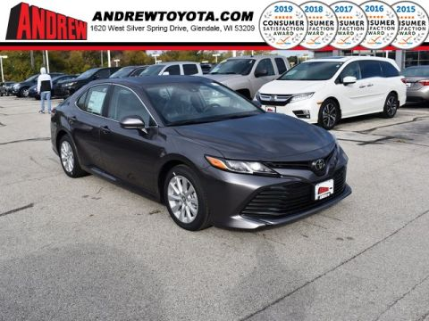 Stock #: 38784 Gray 2020 Toyota Camry LE 4D Sedan in Milwaukee, Wisconsin 53209