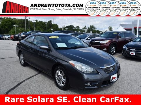 Stock #: 38582BBB Gray 2007 Toyota Camry Solara SE 2D Coupe in Milwaukee, Wisconsin 53209