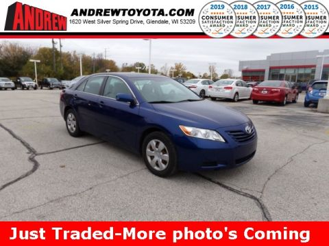 Stock #: 38664A Blue 2008 Toyota Camry LE 4D Sedan in Milwaukee, Wisconsin 53209