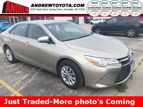 Stock #: KB1081 Beige 2016 Toyota Camry LE 4D Sedan in Milwaukee, Wisconsin 53209