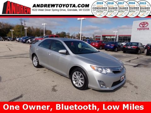 Stock #: TP1116A Silver 2014 Toyota Camry XLE 4D Sedan in Milwaukee, Wisconsin 53209