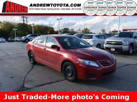 Stock #: TP1119A Red 2010 Toyota Camry LE 4D Sedan in Milwaukee, Wisconsin 53209
