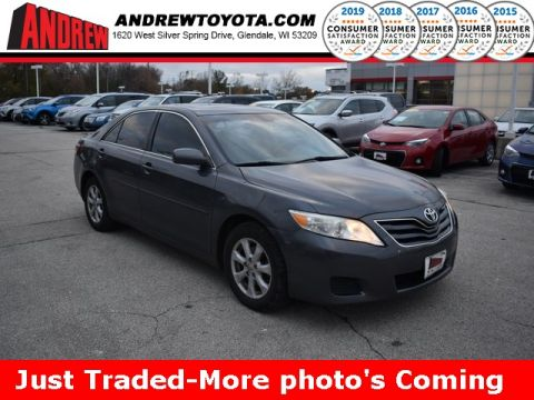Stock #: TP1066A Gray 2011 Toyota Camry LE 4D Sedan in Milwaukee, Wisconsin 53209