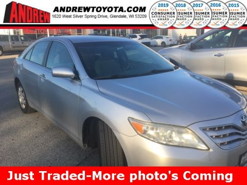 Stock #: 38831B Beige 2010 Toyota Camry LE 4D Sedan in Milwaukee, Wisconsin 53209