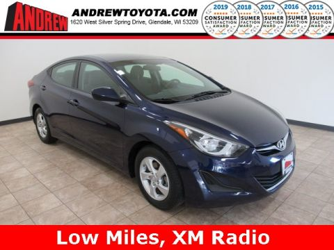 Stock #: TP10039A Blue 2014 Hyundai Elantra SE 4D Sedan in Milwaukee, Wisconsin 53209
