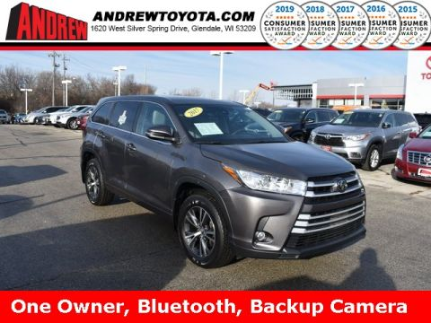 Stock #: TP1229 Gray 2017 Toyota Highlander LE Plus 4D Sport Utility in Milwaukee, Wisconsin 53209