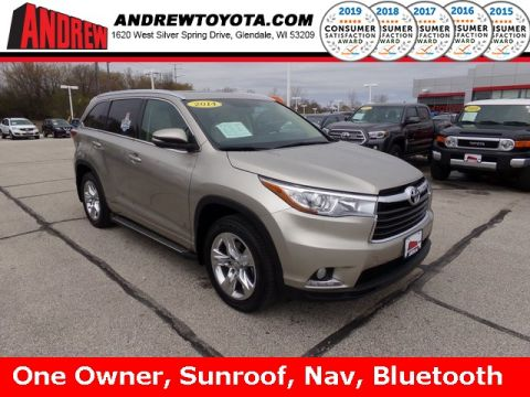 Stock #: TP9830 Beige 2014 Toyota Highlander Limited 4D Sport Utility in Milwaukee, Wisconsin 53209
