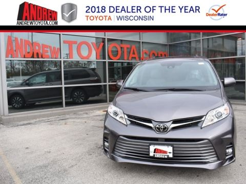 Stock #: 37087 Gray 2019 Toyota Sienna XLE 4D Passenger Van in Milwaukee, Wisconsin 53209