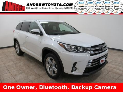 Stock #: 39156A White 2018 Toyota Highlander Limited 4D Sport Utility in Milwaukee, Wisconsin 53209