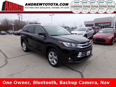 Stock #: 37753A Black 2017 Toyota Highlander Limited 4D Sport Utility in Milwaukee, Wisconsin 53209