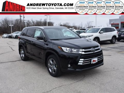 Stock #: 37390 Black 2019 Toyota Highlander Limited Platinum 4D Sport Utility in Milwaukee, Wisconsin 53209