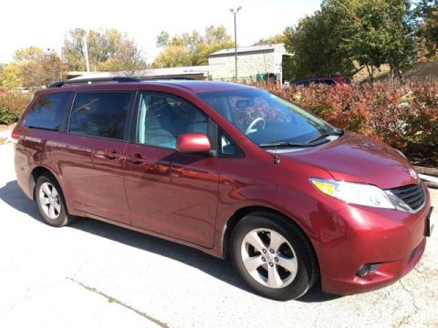 Stock #: 38533B Red 2013 Toyota Sienna LE 4D Passenger Van in Milwaukee, Wisconsin 53209