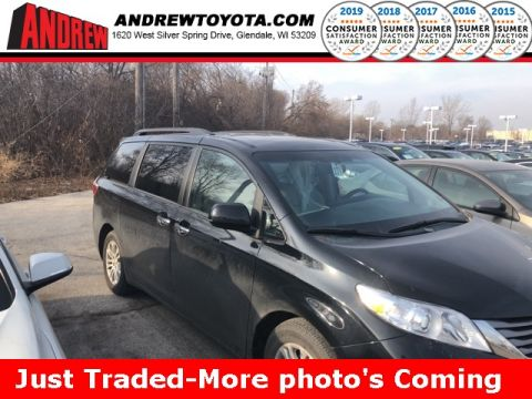 Stock #: 39130A Black 2015 Toyota Sienna XLE 4D Passenger Van in Milwaukee, Wisconsin 53209