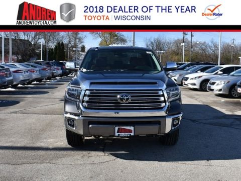 Stock #: 37110 Gray 2019 Toyota Tundra 1794 4D CrewMax in Milwaukee, Wisconsin 53209