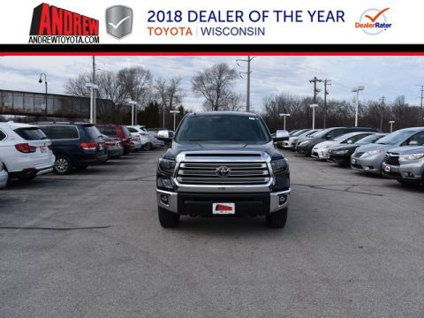 Stock #: 37353 Black 2019 Toyota Tundra Limited 4D Double Cab in Milwaukee, Wisconsin 53209
