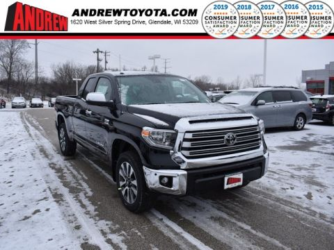 Stock #: 37355 Black 2019 Toyota Tundra Limited 4D Double Cab in Milwaukee, Wisconsin 53209