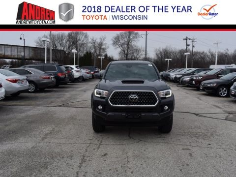 Stock #: 37137 Gray 2019 Toyota Tacoma TRD Sport 4D Double Cab in Milwaukee, Wisconsin 53209