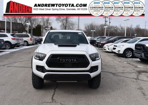 Stock #: 37392 White 2019 Toyota Tacoma TRD Pro 4D Double Cab in Milwaukee, Wisconsin 53209