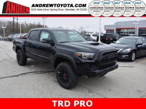 Stock #: 37924 Black 2019 Toyota Tacoma TRD Pro 4D Double Cab in Milwaukee, Wisconsin 53209