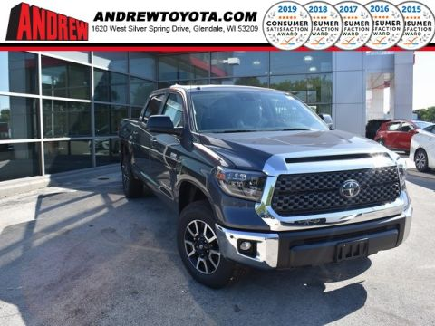 Stock #: 36878 Gray 2019 Toyota Tundra SR5 4D CrewMax in Milwaukee, Wisconsin 53209