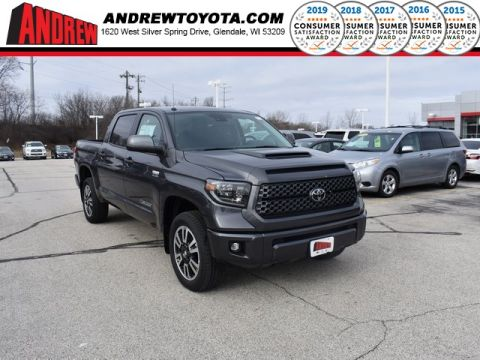 Stock #: 36856 Gray 2019 Toyota Tundra SR5 4D CrewMax in Milwaukee, Wisconsin 53209