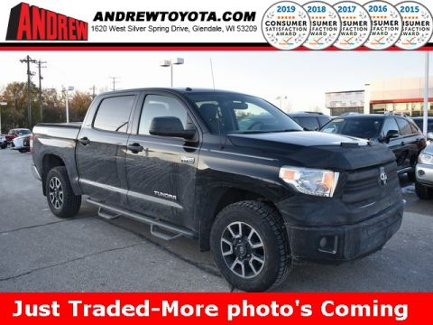Stock #: KB1184 Black 2014 Toyota Tundra  4D CrewMax in Milwaukee, Wisconsin 53209