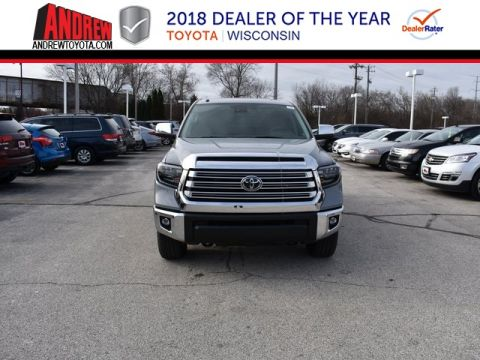 Stock #: 37322 Gray 2019 Toyota Tundra Limited 4D CrewMax in Milwaukee, Wisconsin 53209