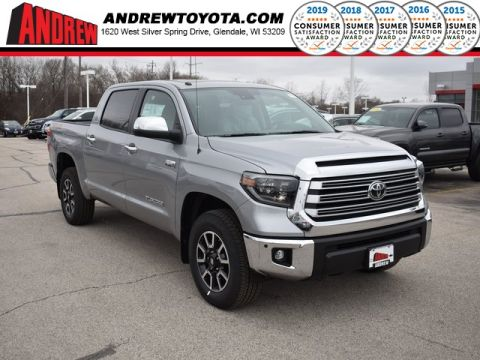Stock #: 37730 Silver 2019 Toyota Tundra Limited 4D CrewMax in Milwaukee, Wisconsin 53209
