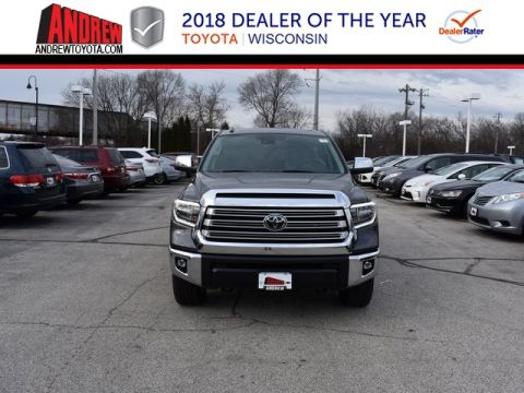 Stock #: 37258 Gray 2019 Toyota Tundra Limited 4D CrewMax in Milwaukee, Wisconsin 53209