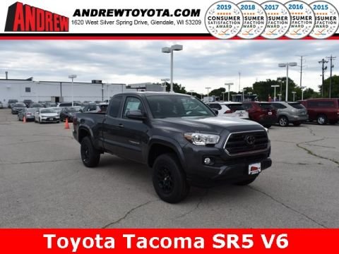 Stock #: 38311 Gray 2019 Toyota Tacoma SR5 4D Access Cab in Milwaukee, Wisconsin 53209