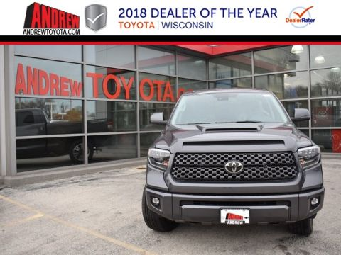 Stock #: 36963 Gray 2019 Toyota Tundra SR5 4D Double Cab in Milwaukee, Wisconsin 53209