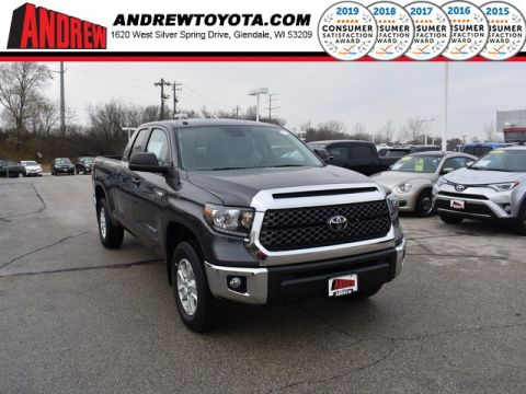 Stock #: 37135 Gray 2019 Toyota Tundra SR5 4D Double Cab in Milwaukee, Wisconsin 53209