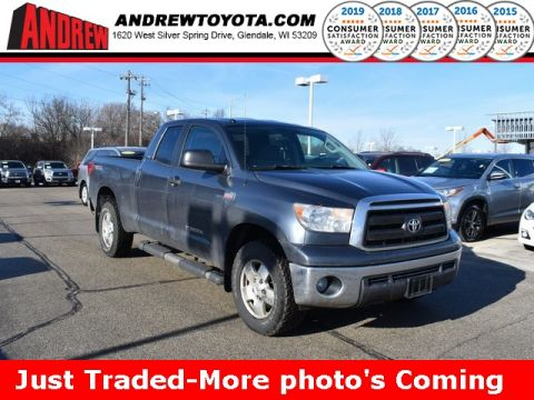 Stock #: 38761A Gray 2010 Toyota Tundra Grade 4D Double Cab in Milwaukee, Wisconsin 53209
