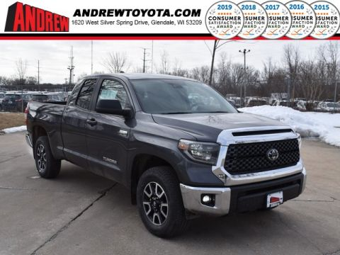 Stock #: 39244 Magnetic Gray Metallic 2020 Toyota Tundra SR5 4D Double Cab in Milwaukee, Wisconsin 53209