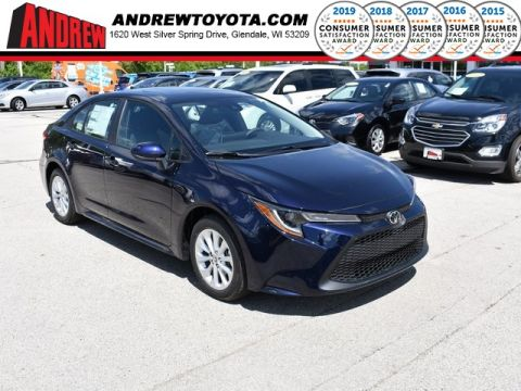 Stock #: 38041 Blue Print 2020 Toyota Corolla LE 4D Sedan in Milwaukee, Wisconsin 53209