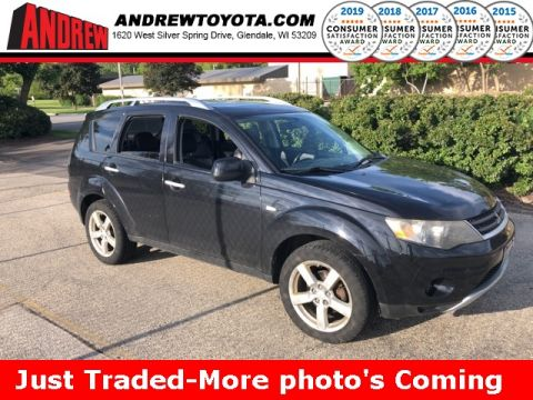 Stock #: TP9968 Black 2007 Mitsubishi Outlander XLS 4D Sport Utility in Milwaukee, Wisconsin 53209