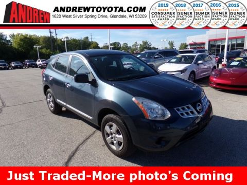 Stock #: 37889C Blue 2013 Nissan Rogue S 4D Sport Utility in Milwaukee, Wisconsin 53209