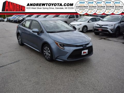 Stock #: 38731 Gray 2020 Toyota Corolla Hybrid LE 4D Sedan in Milwaukee, Wisconsin 53209