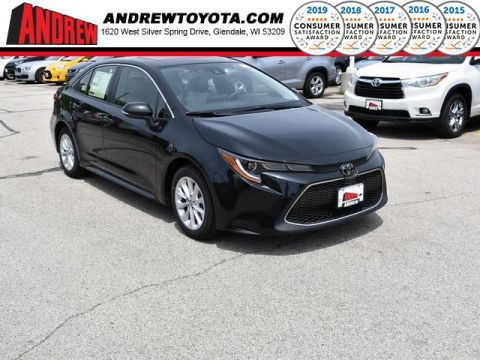 Stock #: 38146 Black 2020 Toyota Corolla XLE 4D Sedan in Milwaukee, Wisconsin 53209