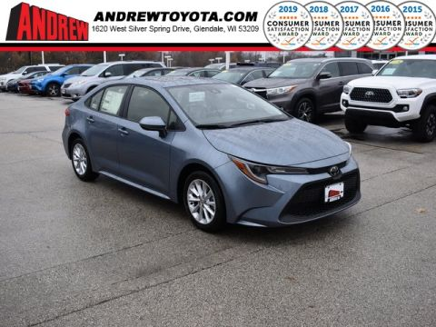 Stock #: 38884 Gray 2020 Toyota Corolla LE 4D Sedan in Milwaukee, Wisconsin 53209