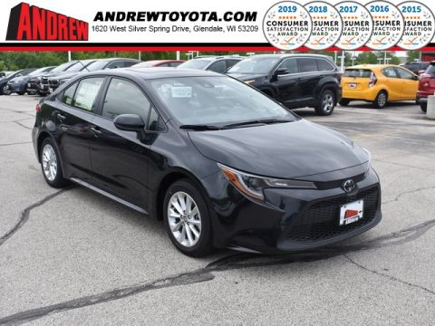 Stock #: 37720 Black 2020 Toyota Corolla LE 4D Sedan in Milwaukee, Wisconsin 53209