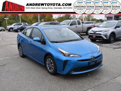 Stock #: 38755  2020 Toyota Prius XLE 5D Hatchback in Milwaukee, Wisconsin 53209