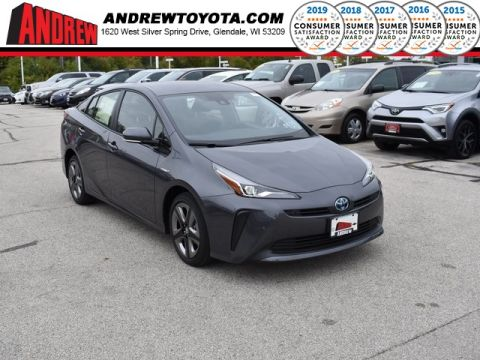 Stock #: 38704 Gray 2020 Toyota Prius Limited 5D Hatchback in Milwaukee, Wisconsin 53209