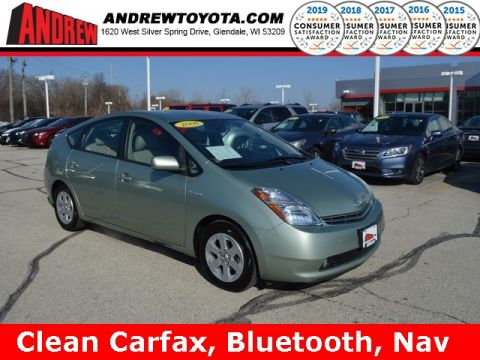 Stock #: TP9682A Silver 2008 Toyota Prius Base 4D Sedan in Milwaukee, Wisconsin 53209