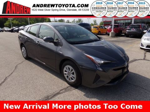 Stock #: TP9882 Gray 2016 Toyota Prius Two 5D Hatchback in Milwaukee, Wisconsin 53209