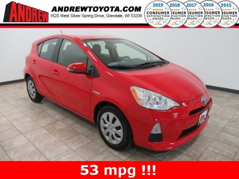Stock #: 38232B Red 2012 Toyota Prius c Two 5D Hatchback in Milwaukee, Wisconsin 53209