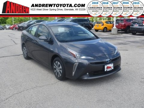 Stock #: 38017 Gray 2019 Toyota Prius LE 5D Hatchback in Milwaukee, Wisconsin 53209