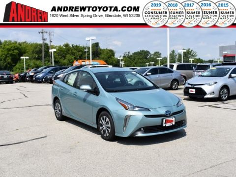 Stock #: 38274  2019 Toyota Prius XLE AWD-e 5D Hatchback in Milwaukee, Wisconsin 53209