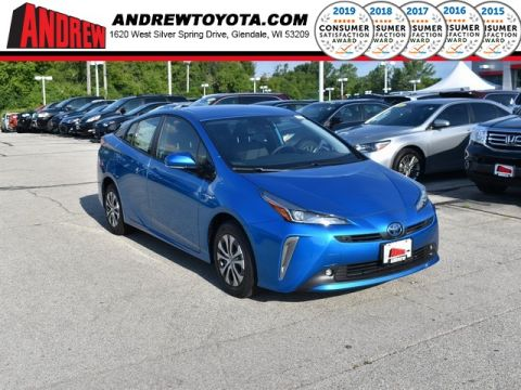 Stock #: 38383  2019 Toyota Prius XLE AWD-e 5D Hatchback in Milwaukee, Wisconsin 53209