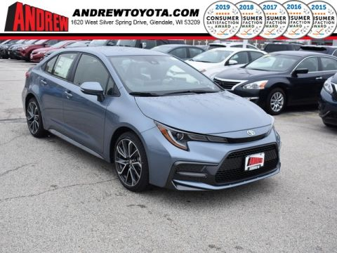 Stock #: 37931 Gray 2020 Toyota Corolla SE 4D Sedan in Milwaukee, Wisconsin 53209